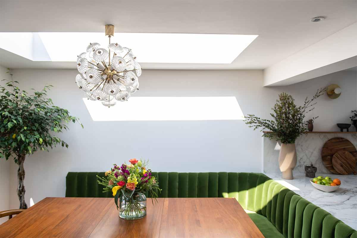 bespoke rooflight vario by velux house london