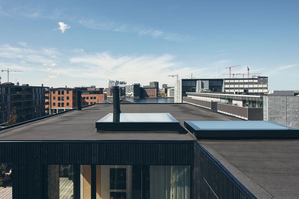 vario by velux bespoke rooflight rectangular flat glass